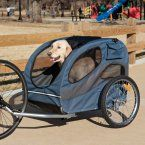 Solvit HoundAbout Pet Bicycle Trailer - Dog Carriers at Hayneedle