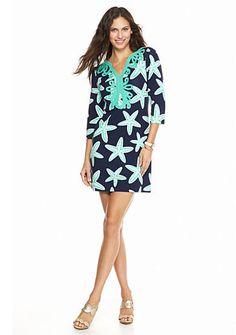 crown & ivy™ Starfish Soutache Dress