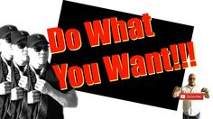 Why YOU Should Do What You Want - Success Tips