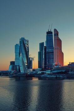 Moscow City by Zhenya Sneg on 500px