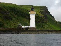 Rubha Nan Gall Lighthouse Isle of MullTobermoryArgyll and ButeScotland.56.638698, -6.066126