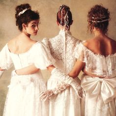 Three Sisters....From an old Victoria magazine