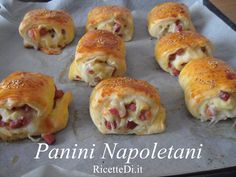 Easter Recipes, Appetizer Recipes, Vegan Desserts, Vegan Recipes, Vegan Gains, Dinner Rolls Recipe, Salty Snacks, Snacks Für Party, Nutella