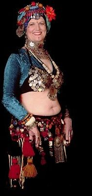 Tribal style bellydance costuming tutorials. :) And this is Paulette Rees-Denis,founder of Gypsy Caravan bellydance troup,from my hometown of Portland OR