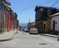 Cerro de Valparaiso.Chile