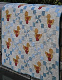 Just Ducky by Notes From The Patch.  I have made this quilt for a baby present.