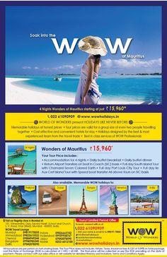 Wonders of Mauritius Media Campaign, Mauritius, New Zealand, How To Memorize Things, Europe, Canada, Australia, Tours, Night