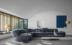 We are pleased to announce that Surf, the modular sofa system designed by Yabu Pushelberg presented at 2019 Salone del Mobile.Milano, received the Best. Sofa Design, Furniture Design, Interior Design Magazine, Yabu Pushelberg, Comfy Sofa, Corner Sectional, Luxury Furniture Brands, Italian Furniture, Art Of Living