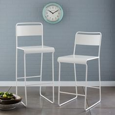 Bent Metal Bar + Counter Stool | west elm