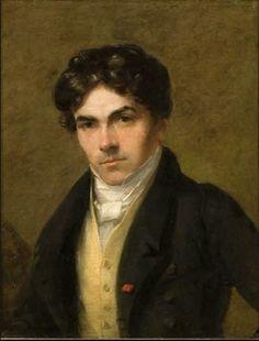 Portrait of Eugène Delacroix by Thomas Fielding. 1825. Musee Eugene Delacroix