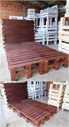 Use of the wood pallets can even be used in the suitable creation of the bed framing work that is so fabulous designed with the wood pallet coverage use inside it. This arrangement designing of the bed framing has been settled with the divisions of the planks right into it.