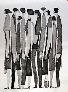 Aoki Tetsuo Woodprints