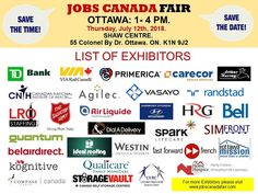 List of Hiring Companies for #Ottawa Job Fair July 12th, 2018, 1-4pm at #SHAWCENTRE #FREE Admission. Hundreds of #Jobs! Meet recruiters face to face! #Interview. Get #Hired! Check: http://www.jobscanadafair.com/Ottawa-Job-Fair-List-of-Exhibitors-s/1484.htm #JobsCanadaFair #OttawaJobFair #JobsCanadaFairs #CareerFair