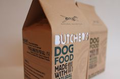 Butchers Dog Food - Brand Identity and Packaging on Behance