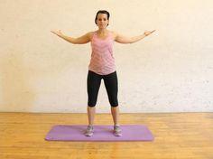 Bloggerin und Fitnesstrainerin Stefanie Bruckert von fitnessliebe.com präsentiert exklusiv auf vital.de Stretching-Übungen für den Oberkörper.