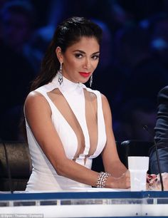Nicole Scherzinger 'may not sign as X Factor judge' 'People are getting nervous': Nicole Scherzinger (pictured on the show) 'may not sign as X Factor judge leaving Simon Cowell in hot water' - New Ideas Simon Cowell, Demi Lovato, Jessica Lucas, Celebs, Celebrities, Beauty Women, Curvy, Beautiful Women, Hollywood