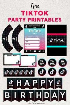 Easy Party Decorations, Fun Party Themes, Birthday Party Themes, Birthday Invitations, Birthday Balloons, Party Ideas, Free Birthday, 12th Birthday, Birthday Ideas
