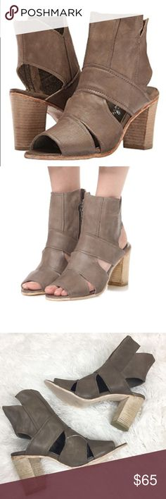 914508a9b7 FREE PEOPLE Effie Block Heel Sandals Brand new with tags! Genuine leather.  Lightly worn
