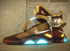 "Nike Air Mag ""Ironman"" Custom 