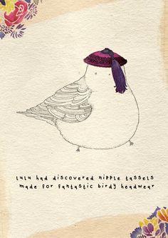 Little Birds by Kate Wilson at Coroflot.com