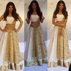 Jennifer Winget the Beautiful Indian Actress. Western Dresses, Indian Dresses, Indian Outfits, Indian Clothes, Western Outfits, Bollywood Outfits, Bollywood Fashion, Golden Dress, Indian Attire