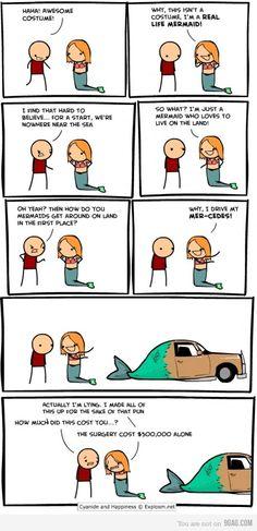 LOL. Hilarious mermaid joke