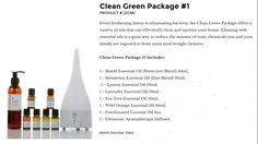 Clean Green Package #1 BePure.ly/meshallie