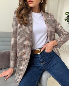 Casual Work Outfits, Business Casual Outfits, Mode Outfits, Classy Outfits, Stylish Outfits, Winter Fashion Outfits, Look Fashion, Fall Outfits, Autumn Fashion
