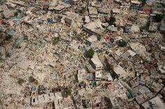 Yıkılmış şehri, Haiti.
