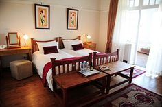 Excelsior Manor Guesthouse offers luxury accommodation in the heart of the Robertson Wine Valley on a working wine farm. Luxury Accommodation, Farms, African, Wine, Heart, Bed, Furniture, Home Decor, Homesteads