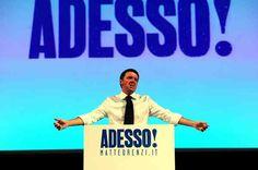 """Elezioni 2013: Matteo Renzi lancia la sfida, """"Voglio guidare l'Italia"""""""
