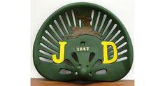 #tosimplyshop Green Tractor Seat 1847 #gifts #homedecor #gardendecor #decor #home #garden #shopping