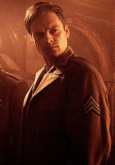 This face gets me every time. This is the moment Bucky realizes he's the wing man now!