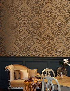 Elegant Damask Stencils for walls. Reusable wall stencils at great prices. $50