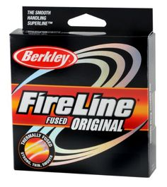Berkley Fused Crystal Fireline, 10/4 Lb, 1500 Yd , Smoke -- Check out the image by visiting the link.