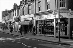 Herbert Road, Plumstead, London. I used to spend my pocket money in this shop in the 60s.