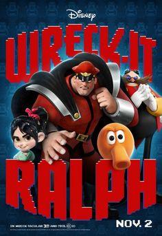 無敵破壞王 (Wreck-It Ralph) poster