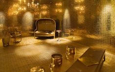 Golden room, Downtown - 15 Broad St, NYC