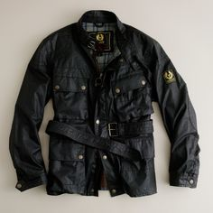 Shop the Belstaff original Trialmaster jacket at J.Crew and see the entire selection of Men's Outerwear. Find Men's clothing & accessories at J. Belstaff Jackets, Waxed Cotton Jacket, Motorcycle Outfit, Cool Jackets, Gentleman Style, Mode Outfits, Menswear, Leather Jacket, Moda Masculina