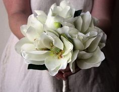 magnolia bouquets for weddings - Google Search