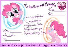 invitaciones my little pony gratis - Buscar con Google
