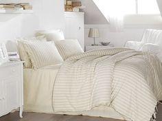 Cotton Linen Luxury High Quality Modern Stripe by casanegozio