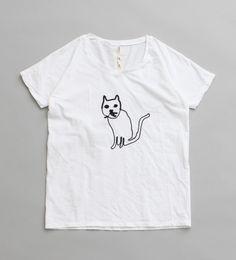 fig London CAT刺繍Tシャツ | Sumally