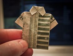 Looking for ways to fold money? Here are some interesting ways to turn your dollar bills into fun and creative shapes...