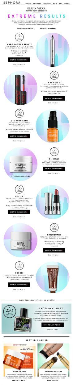 이메일과 상품배치면에서 다양한 느낌을 주는 느낌으로 활용하면 좋을거같습니다. Brand Design, Web Design, Graphic Design, Product Photography, Beauty Photography, Sephora, Promotional Design, Clinique, Banner Design