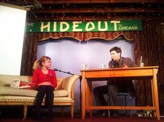 tavi at the hideout interview show #chicago.