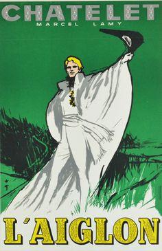 Affiche ancienne - L'Aiglon - René gruau