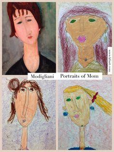Modigliani portraits of mom