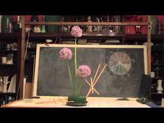 Fun With Allium-from Rittners Floral School, in Boston, MA  www.floralschool.com