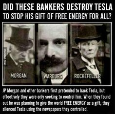 I did a project on Tesla and all my research revealed this. Tesla refused to patent any of his stuff so more people could have electricity. he genuinely loved science and technology but America doesn't reward love, it rewards profit Nikola Tesla, Data Mining, E Mc2, Friedrich Nietzsche, Conspiracy Theories, Illuminati Conspiracy, New World Order, History Facts, Thought Provoking